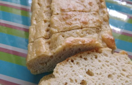 לחם חמאת שקדים דל פחמימות